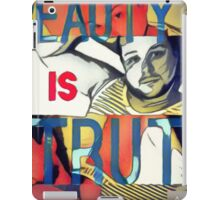 Beauty is Truth iPad Case/Skin