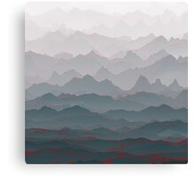 Mountains of Madness I Canvas Print