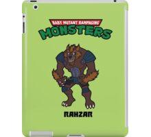 TMNT RAHZAR iPad Case/Skin