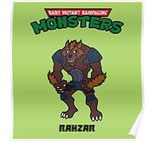 TMNT RAHZAR Poster