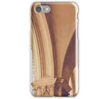 Vintage Gothic arches and columns in Bologna iPhone Case/Skin