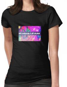 Mi corazón y el alma  Womens Fitted T-Shirt