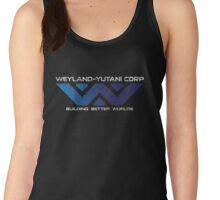 Weyland Yutani - Distressed Gradient Logo Women's Tank Top