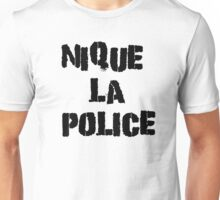 Fuck The Police Classic French Movie Quotes Rap Song Lyrics T-Shirts Unisex T-Shirt