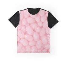 Pink Jelly Bean Graphic T-Shirt