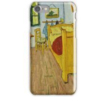 Vincent Van Gogh -  Bedroom, October 1888  iPhone Case/Skin