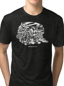 M5 E60 V10 Engine Tri-blend T-Shirt