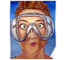 Underwater Mask Poster
