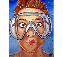 Underwater Mask Photographic Print