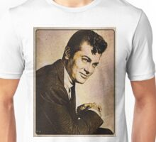 Tony Curtis Vintage Hollywood Actor Unisex T-Shirt