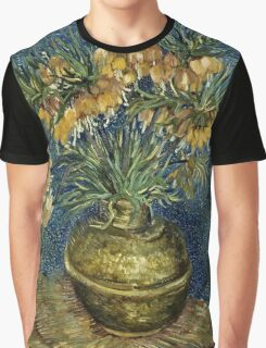 Vincent Van Gogh - Imperial Fritillaries In A Copper Vase, 1887  Graphic T-Shirt