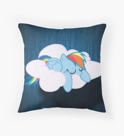 Sleep Dash Throw Pillow