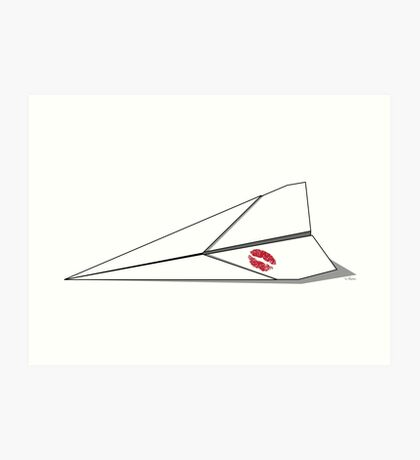 Paper Airplane 8 Art Print