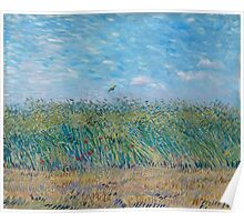 Vincent Van Gogh - Wheat Field With A Lark, 1887 Poster