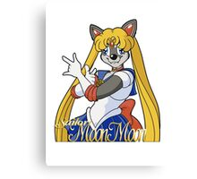 Sailor Moon Moon Canvas Print