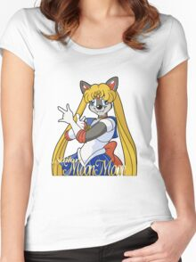 Sailor Moon Moon Women's Fitted Scoop T-Shirt