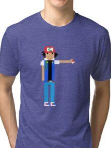 Ash Ketchum  Tri-blend T-Shirt