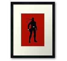 Solid Snake [Metal Gear Solid] Framed Print