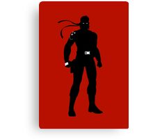 Solid Snake [Metal Gear Solid] Canvas Print