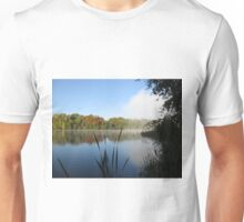 A Fine Autumn Morning By The River Unisex T-Shirt
