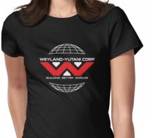 Weyland Yutani - Red Logo Womens Fitted T-Shirt