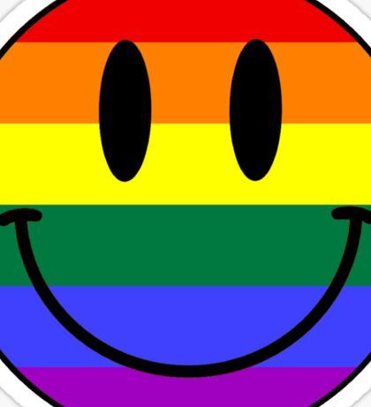 Gay Smiley face Sticker