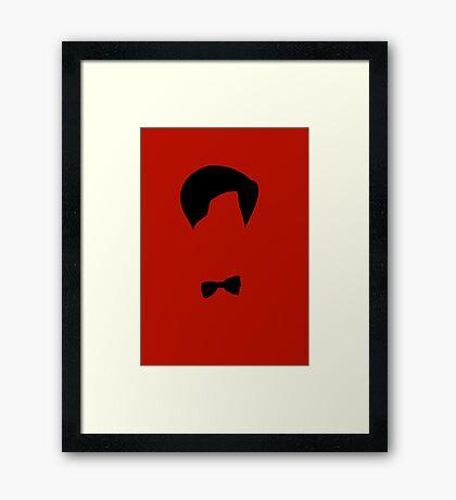 Minimalist Doctor Framed Print