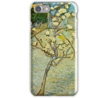 Vincent Van Gogh - Small Pear Tree In Blossom  iPhone Case/Skin