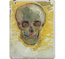 Vincent Van Gogh - Skull  iPad Case/Skin