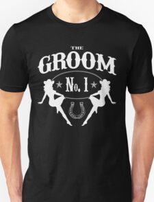 Old West Bachelor Party - Groom Version T-Shirt