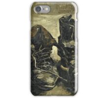 Vincent Van Gogh - Shoes 1887  iPhone Case/Skin