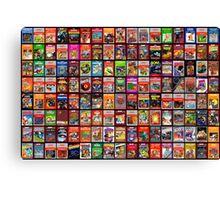 Atari Retro Games Canvas Print