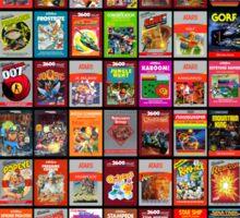 Atari Retro Games Sticker