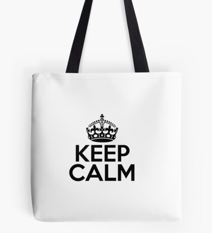 Keep Calm Carry-On Bag Tote Bag