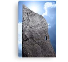 rock head stone Canvas Print