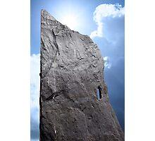rock head stone Photographic Print