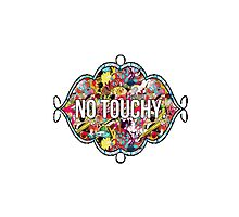 No touchy. Photographic Print