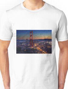 San Francisco collage Unisex T-Shirt