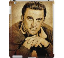 Kirk Douglas Hollywood Actor iPad Case/Skin