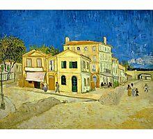 Vincent Van Gogh -  Yellow House, ` Street, September 1888 - 1888  Photographic Print
