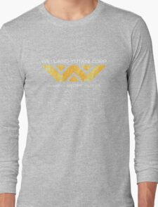 Weyland Yutani - Distressed Yellow Variant Long Sleeve T-Shirt
