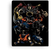 Invincible Anime Team Canvas Print