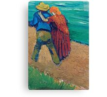 Vincent Van Gogh - A Pair Of Lovers, Arles, 1888 (Soby`s Version) Canvas Print
