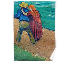 Vincent Van Gogh - A Pair Of Lovers, Arles, 1888 (Soby`s Version) Poster