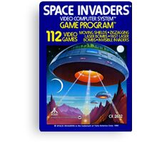 Space Invaders Canvas Print