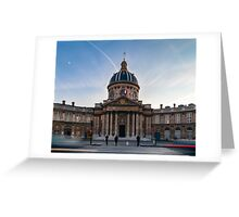 Institut de France Greeting Card