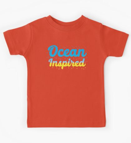 Ocean inspired Kids Tee