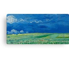 Vincent Van Gogh - Wheatfields Under Thunderclouds, 1890 Canvas Print