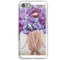 Flower Kiss iPhone Case/Skin