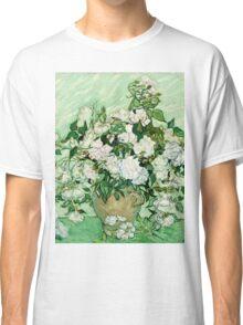 Vincent Van Gogh - Roses 1890  Classic T-Shirt